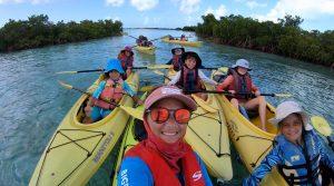 kayaking turks and caicos